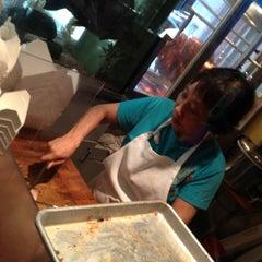 Photo taken at Kau Kau Barbeque Market by ɐzǝɹ . on 7/8/2012