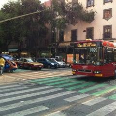 Photo taken at Av. 20 De Noviembre by Quetzalcoatl on 5/26/2012