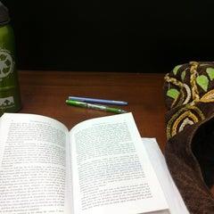 Photo taken at 4th Floor Quiet Study by Vianca T. on 10/26/2011