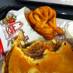 Photo taken at Arby's by Arzan on 3/29/2011