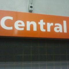 Photo taken at MetrôRio - Estação Central by Eduardo on 11/20/2011