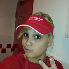 Photo taken at Five Guys by Tiffany L. on 1/15/2012
