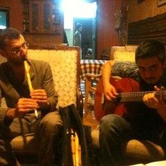 Photo taken at Saklı Bahçe Cafe&Nargile by Ömür Z. on 8/21/2011