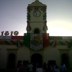 Photo taken at Palacio Municipal by Alex V. on 9/1/2012