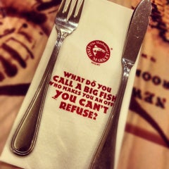 Photo taken at The Manhattan Fish Market by Chea K. on 8/29/2012