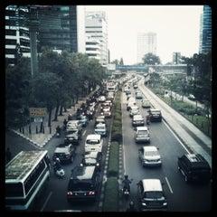Photo taken at Jalan H.R. Rasuna Said by Danny K. on 2/21/2011