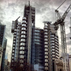 Photo taken at Lloyd's of London by snarkle on 2/14/2012