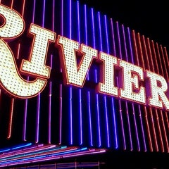 Photo taken at Riviera Hotel & Casino by Darren F. on 10/16/2011
