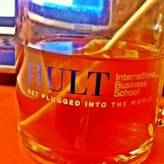 Photo taken at Hult International Business School by Annie on 1/18/2012