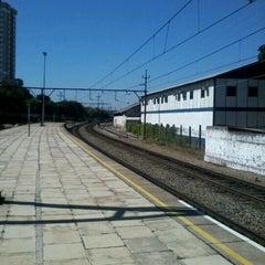 Photo taken at Estação Pirituba (CPTM) by Arthur A. on 3/19/2012