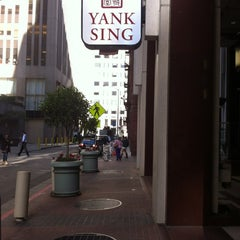 Photo taken at Yank Sing by Bruno S. on 3/8/2012