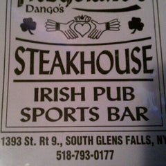 Photo taken at Fitzgerald's Dango's Steak House, Irish Pub & Sports Bar by Fred V. on 4/5/2011