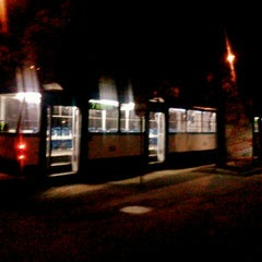 "Photo taken at 7. tramvajs | Ausekļa iela - Tirdzniecības centrs ""Dole"" by Gints R. on 9/6/2012"
