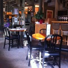 Photo taken at Sam's Brasserie & Bar by Mick Y. on 6/14/2011