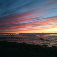 Photo taken at Majoru pludmale | Majori beach by Elka Z. on 7/13/2012