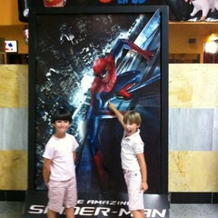 Photo taken at Cines Bahía Mar by Pedro M. on 7/19/2012