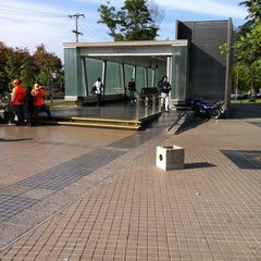 Photo taken at Metro Hernando de Magallanes by Cristóbal O. on 11/2/2011