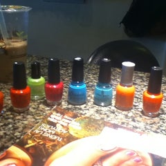 Photo taken at Venus Nails & Spa by leatherette on 7/26/2012