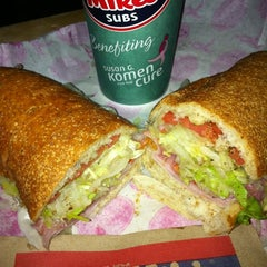 Photo taken at Jersey Mike's Subs by Conrad & Jenn R. on 9/10/2011