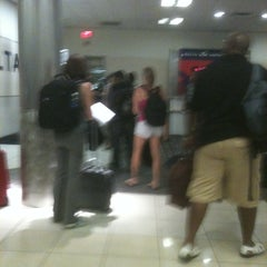 Photo taken at Gate B33 by Stacy B. on 9/15/2011