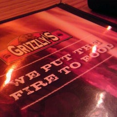 Photo taken at Grizzly's Wood-Fired Grill & Steaks by @jayelarex on 12/18/2011