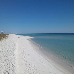 Photo taken at Navarre Beach by Merrie F. on 11/11/2011
