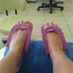 Photo taken at Nu's Nails by Christy R. on 7/28/2012