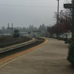 Photo taken at Vancouver Amtrak Station (VAN) by Dave C. on 12/3/2011