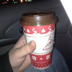Photo taken at Caribou Coffee by Alex B. on 12/6/2011