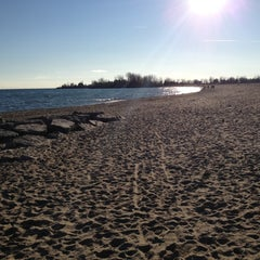 Photo taken at Ashbridges Bay Beaches by Ross S. on 12/26/2011