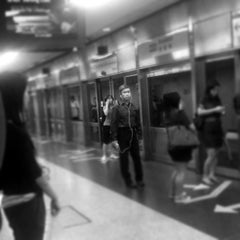 Photo taken at Braddell MRT Station (NS18) by Pohui K. on 11/7/2011