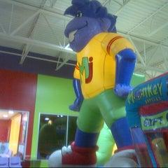Photo taken at Monkey Joe's by Dallas D. on 9/5/2012