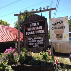 Photo taken at Green Mountain Sugar House by Virginia R. on 7/25/2012