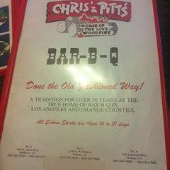 Photo taken at Chris' & Pitt's Restaurant by Steve K. on 4/20/2012