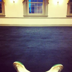 Photo taken at Maguire Hall, Georgetown University by Nico D. on 11/28/2011