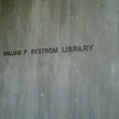 Photo taken at Ekstrom Library by tata h. on 10/25/2011