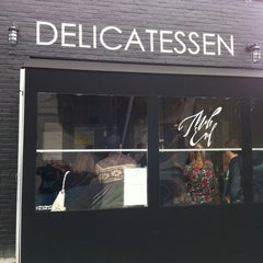 Photo taken at Mile End Delicatessen by Ronald W. on 4/10/2011