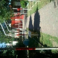 Photo taken at Parque Udabe by Julio P. on 12/27/2011