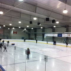 Photo taken at Allyn Arena - Skaneateles YMCA by Larry S. on 12/26/2011
