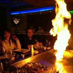 Photo taken at UMI Japanese Steakhouse & Sushi Bar by Griz on 1/24/2012