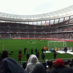 Photo taken at Cape Town Stadium by Shane R. on 7/21/2012
