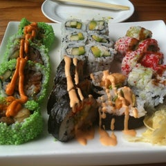 Photo taken at Baan Thai / Tsunami Sushi by Melissa L. on 8/6/2012