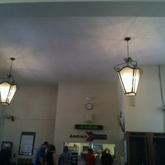 Photo taken at Amtrak Station Orlando by Angela D. on 4/4/2012