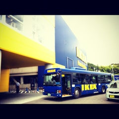 Photo taken at IKEA 港北 by nongtang on 8/8/2012