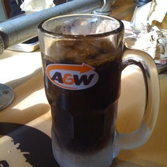 Photo taken at A&W by Vinicius N. on 2/22/2012