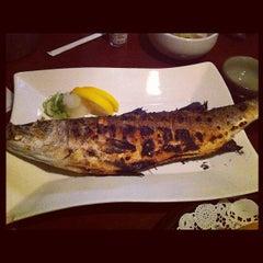 Photo taken at Hana Japanese Eatery by Desert Smoke BBQ on 8/15/2012