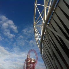 Photo taken at London 2012 Olympic Park by naveen on 8/5/2012