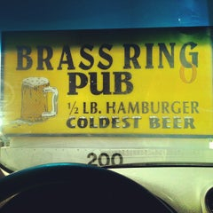 Photo taken at Brass Ring Pub by Dennis J. on 8/20/2012