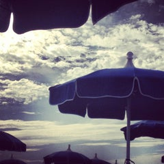 Photo taken at Spiaggia del Gabbiano by Arianna on 7/21/2012