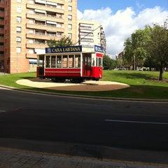 Photo taken at Plaça de Granollers by David M. on 7/15/2012
